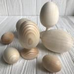 Деревянная яйца (заготовки)