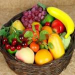 Осенние фрукты и ягоды