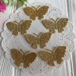 Аппликации (бабочки, цветы)