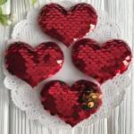 Аппликации сердечка