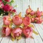 Тюльпаны тканевые