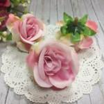 Бутоны роз тканевые