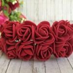 Роза 2,2 см обычная (№ 08035)
