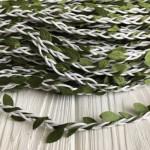 Шнур декоративный с листиками