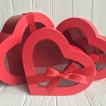 Коробки для подарков (сердца)